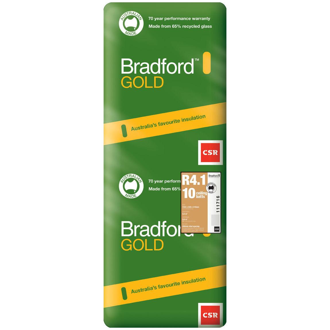 Bradford R4.1 Ceiling Batt