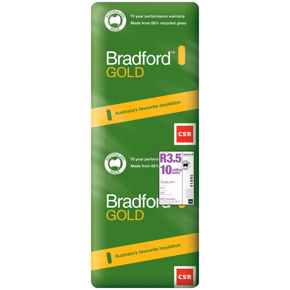 Bradford R3.5 Ceiling Batt